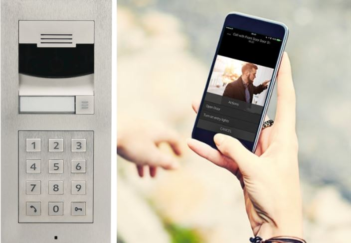 Control4 Intercom Anywhere and Door Station: communication and door connectivity