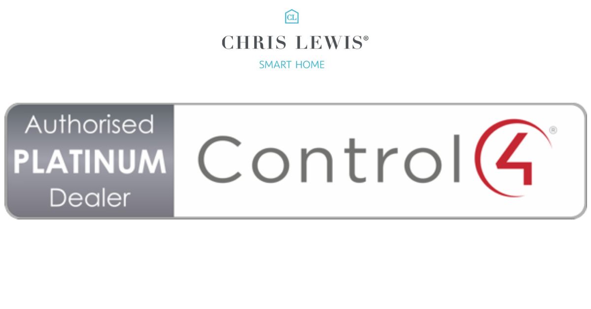 Chris Lewis Smart Home now a Control4 Platinum Dealer